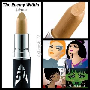 LE MAC x Star Trek Frost Lipstick-The Enemy Within